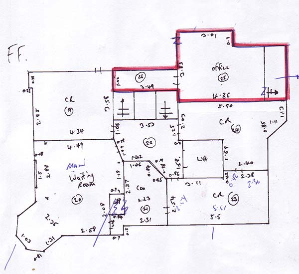 Albert Road Surgery Floorplan - GP Surveyors