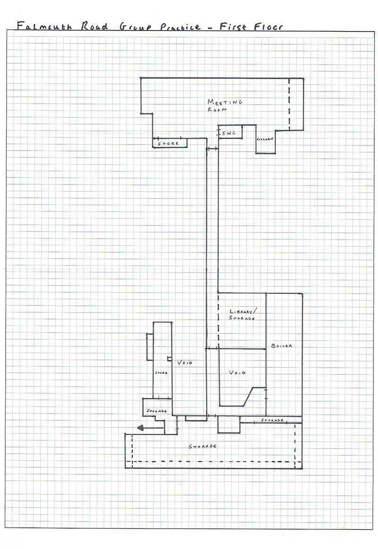 Falmouth Road Group Practice Floorplan - GP Surveyors