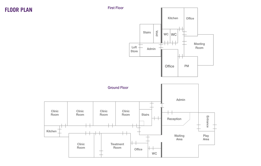 Longford Street Surgery Floorplan