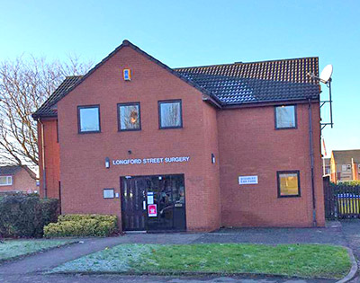 Longford Street Surgery For Sale Front