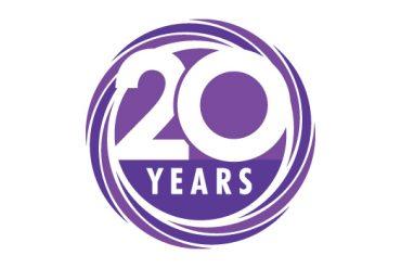GP Surveyors 20 years logo